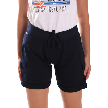 Textil Mulher Shorts / Bermudas Key Up 5G75F 0001 Azul