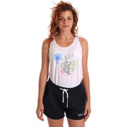 Textil Mulher Todos os fatos de treino Key Up 5K78A 0001 Branco
