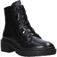 Sapatos Mulher Botas baixas Apepazza F0COMBAT07/DIA Preto