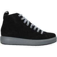 Sapatos Mulher Sapatilhas de cano-alto IgI&CO 6162200 Preto