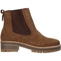 Sapatos Mulher Botins Docksteps DSW103501 Castanho