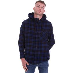 Textil Homem Camisas mangas comprida Antony Morato MMSL00636 FA410149 Azul