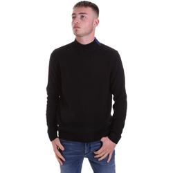 Textil Homem camisolas Antony Morato MMSW01138 YA400133 Preto