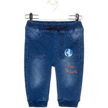 Textil Rapariga Calças de ganga slim Losan 027-6017AL Azul