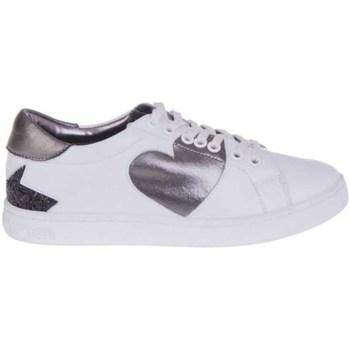 Sapatos Mulher Sapatilhas Fornarina PI18AN1059VA06 Branco
