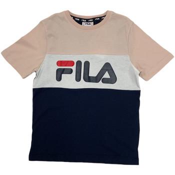 Textil Criança T-Shirt mangas curtas Fila 688141 Rosa