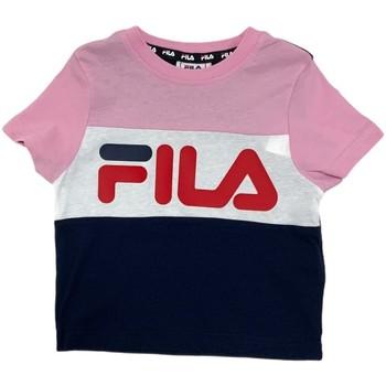 Textil Criança T-Shirt mangas curtas Fila 688023 Rosa