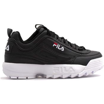 Sapatos Criança Sapatilhas Fila 1011082 Preto