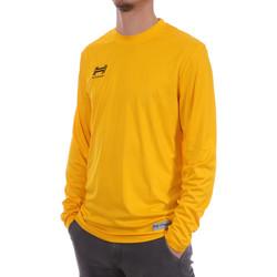 Textil Homem T-shirt mangas compridas Hungaria  Amarelo