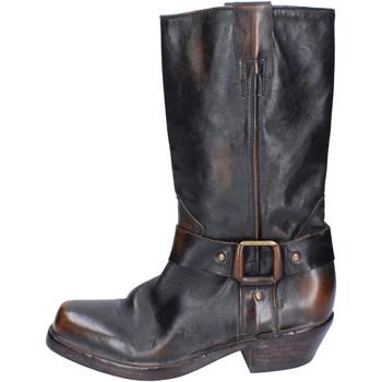 Sapatos Mulher Botas Moma Botas BJ183 Castanho