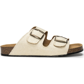 Sapatos Chinelos Nae Vegan Shoes Darco_Pinatex_White branco