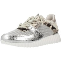 Sapatos Mulher Sapatilhas de cano-alto Cetti C1226 Silver