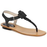 Sapatos Mulher Sandálias Marc Jacobs CHIC CALF Preto