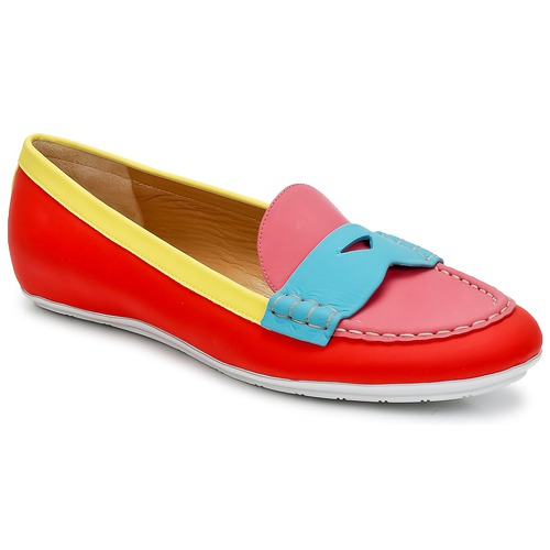 Sapatos Mulher Mocassins Marc Jacobs SAHARA SOFT CALF Multicolor