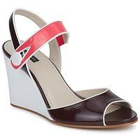 Sapatos Mulher Sandálias Marc Jacobs VOGUE GOAT Bordô / Rosa