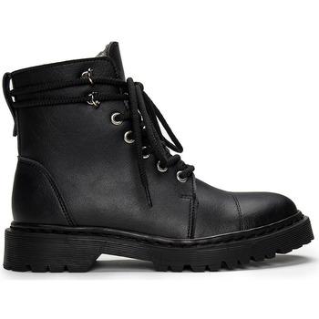 Sapatos Botas baixas Nae Vegan Shoes Charlie_Black preto