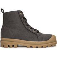 Sapatos Mulher Botins Nae Vegan Shoes Noah_Grey_PET cinza