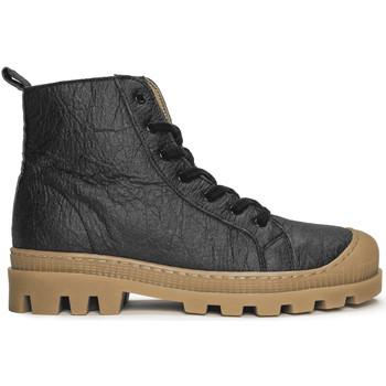 Sapatos Botas baixas Nae Vegan Shoes Noah_Pinatex_Black preto