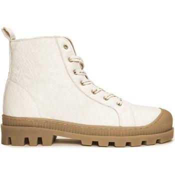 Sapatos Botas baixas Nae Vegan Shoes Noah_Pinatex_White branco