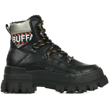 Sapatos Mulher Botas baixas Buffalo Aspha Nc Fur Preto