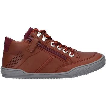 Sapatos Rapaz Sapatos & Richelieu Kickers 830100 JOULA Marr?n