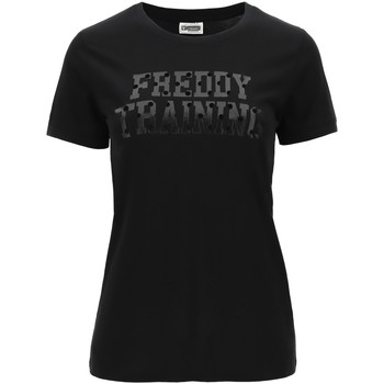 Textil Mulher T-Shirt mangas curtas Freddy - T-shirt nero F0WTRT1-N NERO