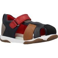 Sapatos Rapaz Sandálias Garvalin 202335 Azul