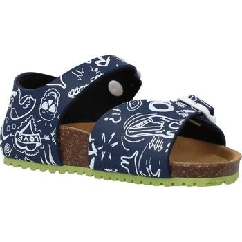 Sapatos Rapaz Sandálias Garvalin 202476 Azul