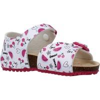 Sapatos Rapariga Sandálias Garvalin 202660 Branco