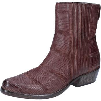 Sapatos Mulher Botins Moma BJ206 Castanho