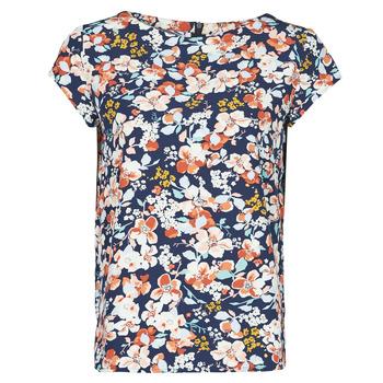 Textil Mulher Tops / Blusas Betty London OMISS Marinho / Rosa