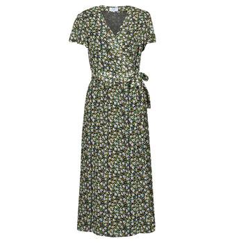 Textil Mulher Vestidos compridos Betty London OMADAM Preto / Multicolor