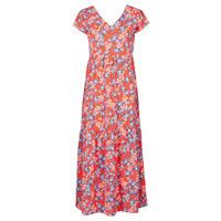 Textil Mulher Vestidos compridos Betty London ODE Vermelho / Multicolor