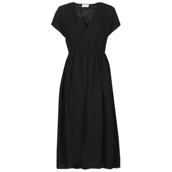 Textil Mulher Vestidos compridos Betty London ODAME Preto