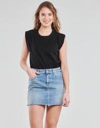 Textil Mulher Tops / Blusas Yurban OPOULI Preto