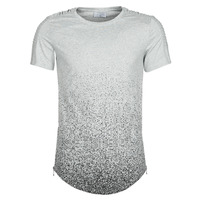Textil Homem T-Shirt mangas curtas Yurban OLORD Cinza / Preto