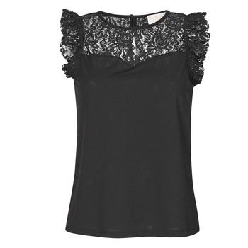 Textil Mulher Tops / Blusas Moony Mood OTTIA Preto