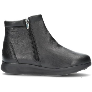 Sapatos Mulher Botins Dtorres FEDRA ZIPPER ANKLE BOOTS NEGRO