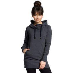 Textil Mulher Sweats Be B072 Pull-over longo - grafite