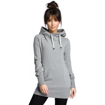 Textil Mulher Sweats Be B072 Pullover longo - cinzento