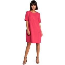 Textil Mulher Vestidos curtos Be B082 Breezy shift dress - rosa