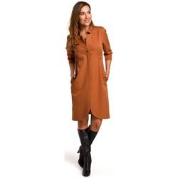 Textil Mulher Vestidos Style S189 Blazer dress - gengibre