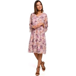 Textil Mulher Vestidos curtos Style S214 Vestido Chiffon com cintura baixa - modelo 2