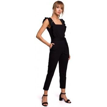 Textil Mulher Macacões/ Jardineiras Moe M508 Mini vestido com um nó - cinzento