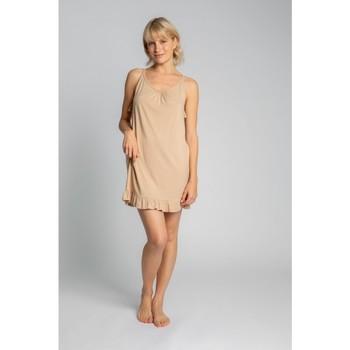 Textil Mulher Pijamas / Camisas de dormir Lalupa LA031 Viscose Chemise - cappuccino