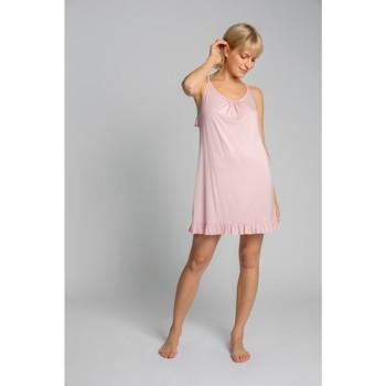 Textil Mulher Pijamas / Camisas de dormir Lalupa LA031 Viscose Chemise - rosa