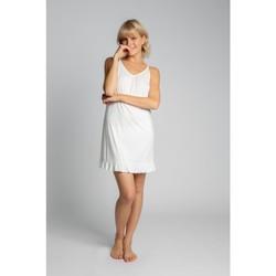 Textil Mulher Pijamas / Camisas de dormir Lalupa LA031 Viscose Chemise - ecru