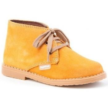Sapatos Rapariga Botins Cbp - Conbuenpie Botin de mujer de piel by PEPE MENARGUES (TUPIE) Marron