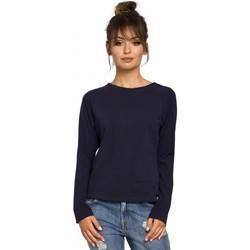 Textil Mulher Tops / Blusas Be B047 Blusa versátil - azul-marinho