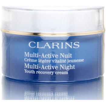 beleza Mulher Acessórios rosto Clarins MULTI-ACTIVE NIGHT CREME FOR NORMAL TO COMBINATION PELE 50ML